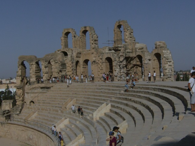 Anfiteatro di El Jem
