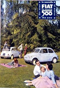 FIAT la nuova 500, 1957, Archivio Fiat