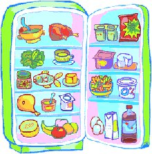 frigo alimenti