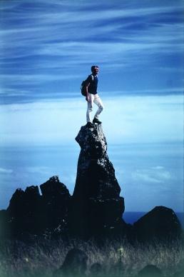 Walter Bonatti, Isola di Pasqua, Cile. Novembre 1969, ©Walter Bonatti/Contrasto
