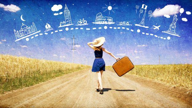 donna viaggio