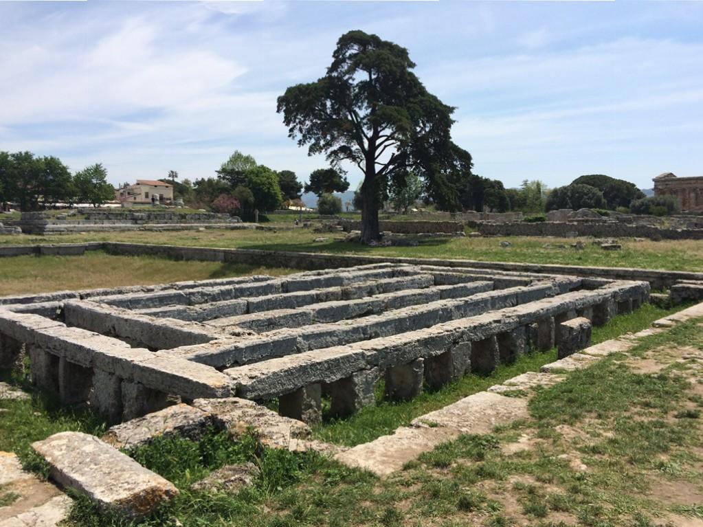 Paestum e il fascino dei templi alla scoperta del mondo - Agora piscina latina ...
